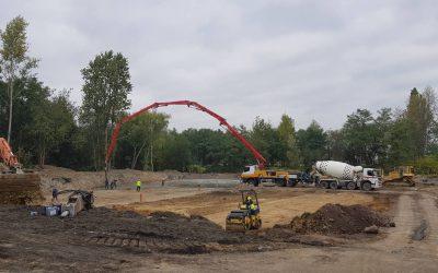 """Pierwsze kubiki betonu na budowie """"Nowe Ptasie"""""""