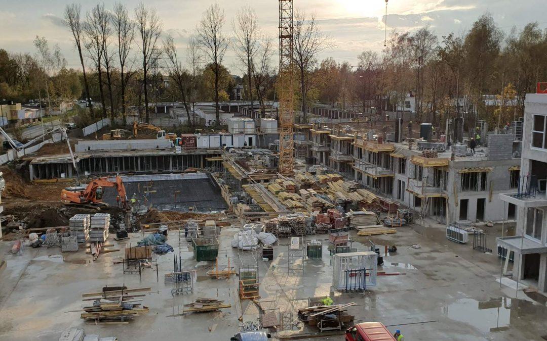 Postęp prac -Etap I i Etap II – koniec października 2019